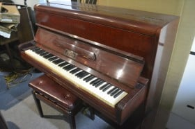 P WELCE WALCE UPRIGH PIANO USED