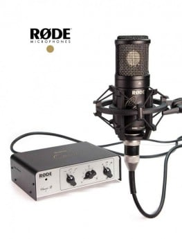 Rode Classic II Limited Edition Vintage-Voiced Valve Microphone