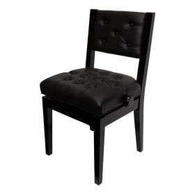 CROWN CHAIR-STYLE PIANOBENCH Adjustable With BACK support (Thompson Chair style)