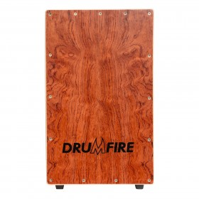 Drumfire Yellow Rosewood Front Wooden Cajon