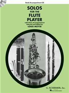 Solos for the Flute Player Flute/Piano Book/CD