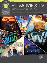 HIT MOVIE AND TV INSTRUMENTAL SOLOS FLUTE BOOK/C