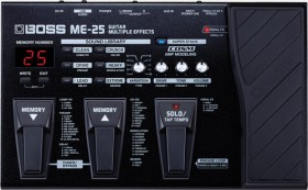 Boss ME25 Multi Effect Pedal Second Hand