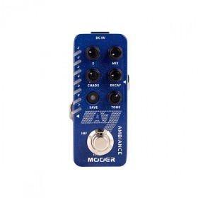 Mooer 'A7' Ambient Reverb Micro Guitar Effects Pedal