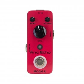 Mooer 'Ana Echo' Analogue Delay Micro Guitar Effects Pedal