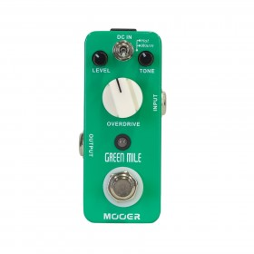 Mooer 'Green Mile' Dual Overdrive Micro Guitar Effects Pedal