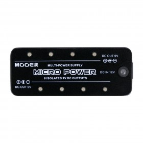 Mooer 'Micro Power' 8-Port Effects Pedal Power Supply