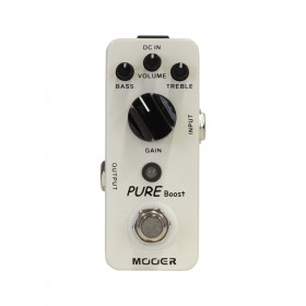 Mooer 'Pure Boost' Clean Boost Micro Guitar Effects Pedal