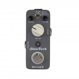 Mooer ShimVerb Reverb Micro Guitar Effects Pedal