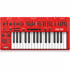 BEHRINGER MS101 RD ANALOG SYNTHESIZER