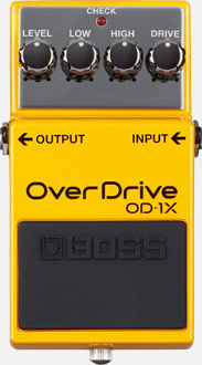 Boss Overdrive Pedal Special Edition Od-1X Demo