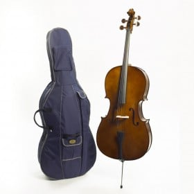 Stentor S1040 Student I 1/8 Size Cello Outfit - Antique Chestnut