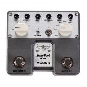 Mooer Shimverb Pro Reverb Twin Guitar Effects Pedal
