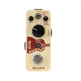 Mooer Woodverb Acoustic Reverb Micro Guitar Effects Pedal