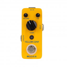 Mooer Yellow Comp Compressor Micro Guitar Effects Pedal