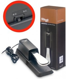 Stagg SUSPED 10 Keyboard Sustain Pedal